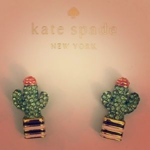 Kate ♠️ Spade Scenic Route Cactus 🌵 Earrings